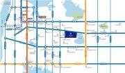 国创光谷上城一期交通图