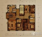 西山壹号院3室2厅3卫276平方米户型图