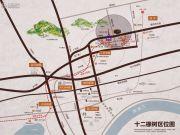通和十二橡树颂居交通图