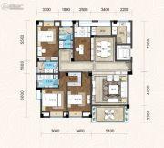 畔山林语4室2厅3卫169平方米户型图