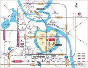 奥园领寓交通图