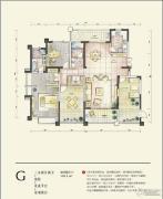 蓝鼎星河府3室2厅2卫198平方米户型图