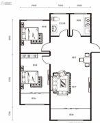 修正・一品汤城2室2厅1卫86--88平方米户型图