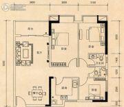 联冠广场3室2厅2卫0平方米户型图