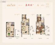 建发泱誉266平方米户型图