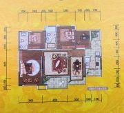 环宇・世纪城3室2厅2卫119--120平方米户型图