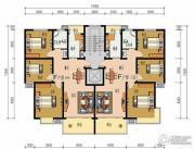 申鑫名城3室2厅1卫100平方米户型图