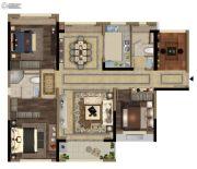 当代万国府MOMΛ4室2厅2卫125平方米户型图
