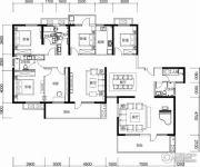 保利城6室3厅4卫267平方米户型图