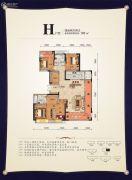 元泰・未来城4室2厅2卫185平方米户型图