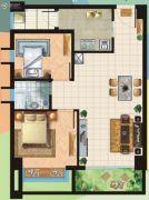 和华・尚悦公馆2室2厅1卫69--73平方米户型图