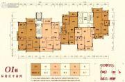 嘉泰华府3室2厅2卫90--122平方米户型图