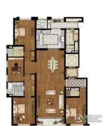 泰宝公爵府5室2厅4卫275平方米户型图