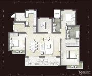 富力十号4室2厅2卫168平方米户型图