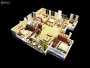 金丽园4室2厅2卫138平方米户型图