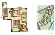美景嘉园3室2厅2卫133平方米户型图