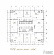 融恒时代广场1548平方米户型图