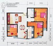 中苑春天3室2厅2卫0平方米户型图