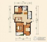 泰华城3室2厅1卫0平方米户型图