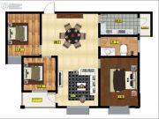 德怡枫林湾3室2厅1卫0平方米户型图