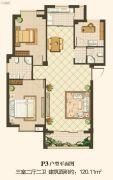 凤凰花园南区3室2厅2卫0平方米户型图