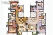 i都会s3室2厅2卫90平方米户型图