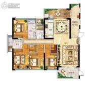 帝�Z苑4室2厅3卫185平方米户型图