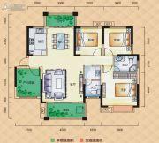 梅溪峰汇4室2厅2卫127平方米户型图