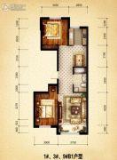 盛世温泉嘉苑0室0厅0卫96平方米户型图