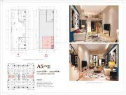 熊猫公馆1室1厅1卫32平方米户型图