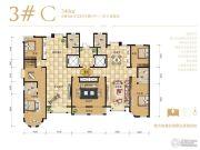 雍和慢城6室3厅4卫340平方米户型图