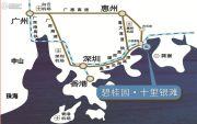 碧桂园十里银滩交通图