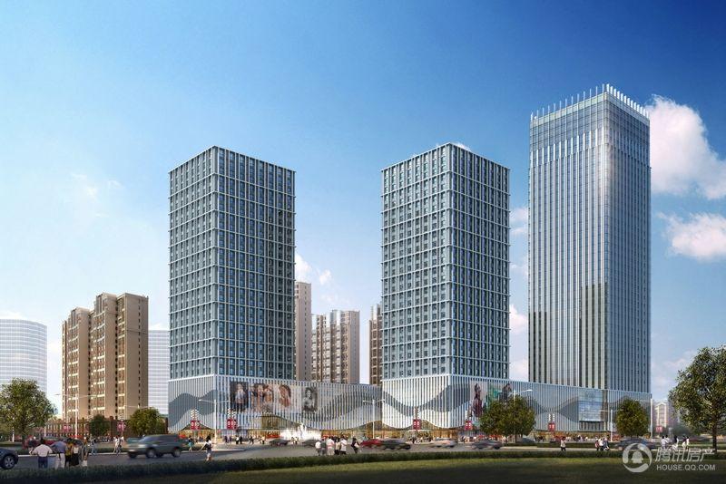 河北国际商会广场效果图