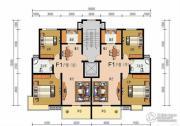申鑫名城2室2厅1卫94平方米户型图