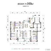 华夏四季4室2厅3卫0平方米户型图