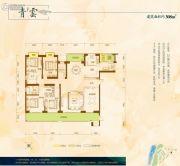 中建江山壹号5室2厅4卫308平方米户型图