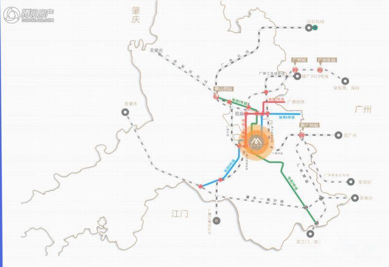 M-city交通图