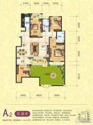 梦幻谷・�|方�A府4室4厅2卫156平方米户型图