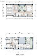 万科17英里4室2厅5卫238--261平方米户型图