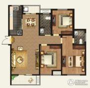 正诚阳光花墅3室2厅2卫143平方米户型图