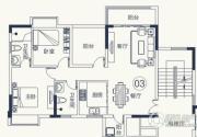 怡泰雅苑2室2厅2卫93平方米户型图