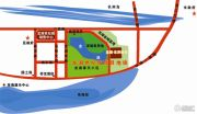 龙湖东岸丽苑交通图