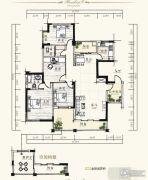 泰达・润景园4室2厅2卫150--151平方米户型图