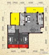 南兴盛世江南乾隆苑3室2厅2卫106平方米户型图