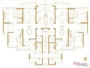 保利天悦4室2厅3卫295平方米户型图