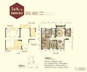 锦泰尊品4室2厅2卫112平方米户型图