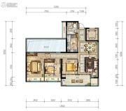 祥生・君临府3室2厅1卫112平方米户型图