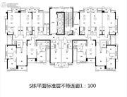 金紫世家2室2厅1卫30--60平方米户型图