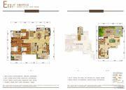华润国际社区3室3厅3卫0平方米户型图
