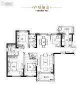晋合・湘水湾4室2厅2卫157平方米户型图